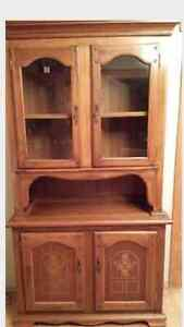Gorgeous solid wood cabinet