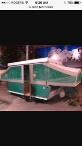 WANTED: Tent Trailer/ Pop-up Camper