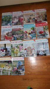 Vintage British Country Living Decorating Magazines