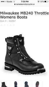 Motorcycle boots never worn