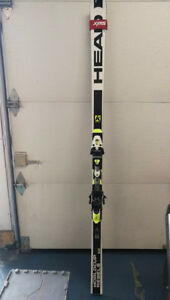 Head World Cup Rebels iGS RD SW RP 35m Race Skis 190cm