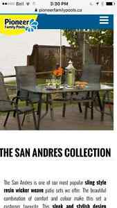 Brand new outdoor dining set