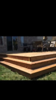 Custom deck and fence builder