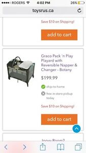 Almost new Graco Pack n Play for only $75