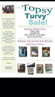 Craft sale/flea market/upcycled furniture