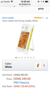 Voice golf caddie. New in box