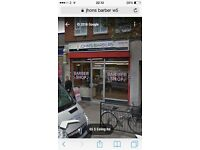 Traditional barber part &Full time Job wanted in south Ealing w5 4QB