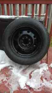 4 Bolt Universal Snow Tires 195/60R14 London Ontario image 1