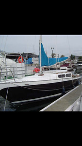 1968 Rawson 26ft sailboat