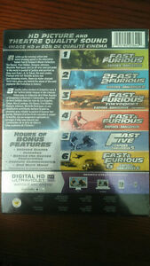 Fast & Furious: 6-Movie Collection (Blu-ray + Digital HD) Oakville / Halton Region Toronto (GTA) image 3