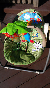 Fisher Price Rainforest take along baby swing