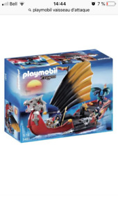 Playmobil chevalier, château, forteresse