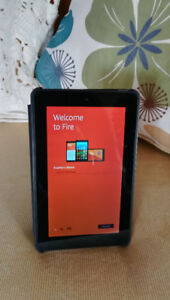 """mint condition Kindle Fire 7 """" + cover"""