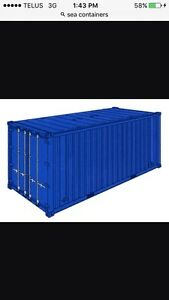 Wanted 40'x8' sea container