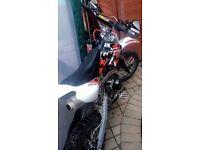 2015 125cc pitbike