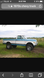 Classic truck wanted