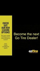 Start your own business. Become the next Go Tire Dealer!
