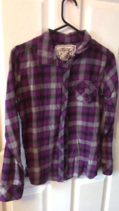 Plaid shirts size small