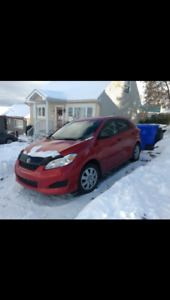 Toyota Matrix 2013 excellente condition