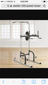 Weider 200 chin up/ dip station (power tower)