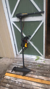 mini kota electric outboard 50 lbs thrust used only 30 min$180