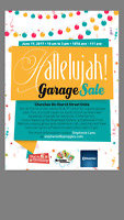 Community garage sale!