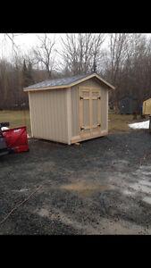 Just Built - 8' x 8' Storage Sheds