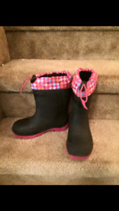 Toddler boy boots & size 13 girl boots