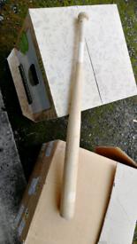 base ball bat wood