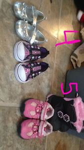 Girls baby shoes sizes 4 & 5