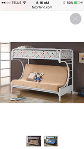 Futon bunk bed/sofa