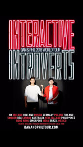 Dan and Phil Interactive Introverts Tour VIP ticket
