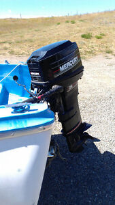 25 H.P. merc outboard motor