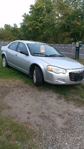 2005 CHYSLER SEBRING TOURING 2.7 L -  AS IS