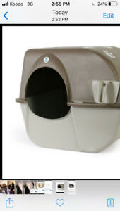Paw Roll N Clean Self Cleaning Litter Box, Large