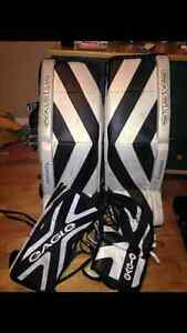 goalie pads and gear