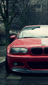 RECHERCHE BMW M3 E46 MANUEL / LOOKING FOR BMW M3 E46 MANUAL