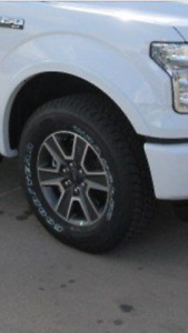2016 f150 rims with tires