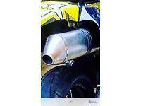 Suzuki drz 400 akaprovic full exhaust