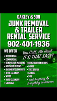 Family Owned Low Rates Junk Removal/Trailer Rental Service