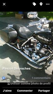 Harley roadking custom