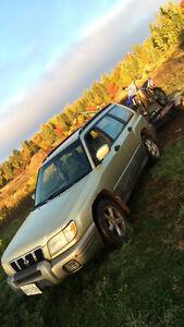2001 Subaru Forester SUV, Crossover