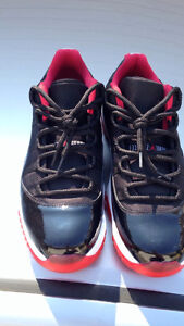 Breds 11 size 12  and Maroons 6 size 11.5