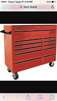 WANTED TOOL CHEST