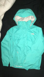 Ladies Small Blue North Face Jacket