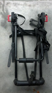 Trunk mount 2-bike rack