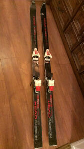 Best Offer! Skis with bindings, poles, boots