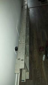 échelle aluminium télescopique et pliante