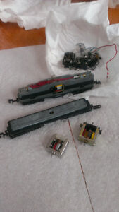 Train pieces