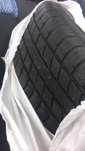 205/65R16 Uniroyal tires with steel rims Cambridge Kitchener Area image 1